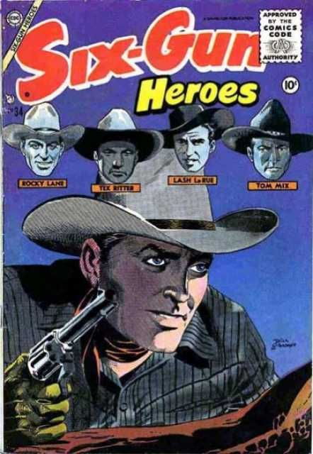 Six-Gun Heroes (Volume) - Comic Vine