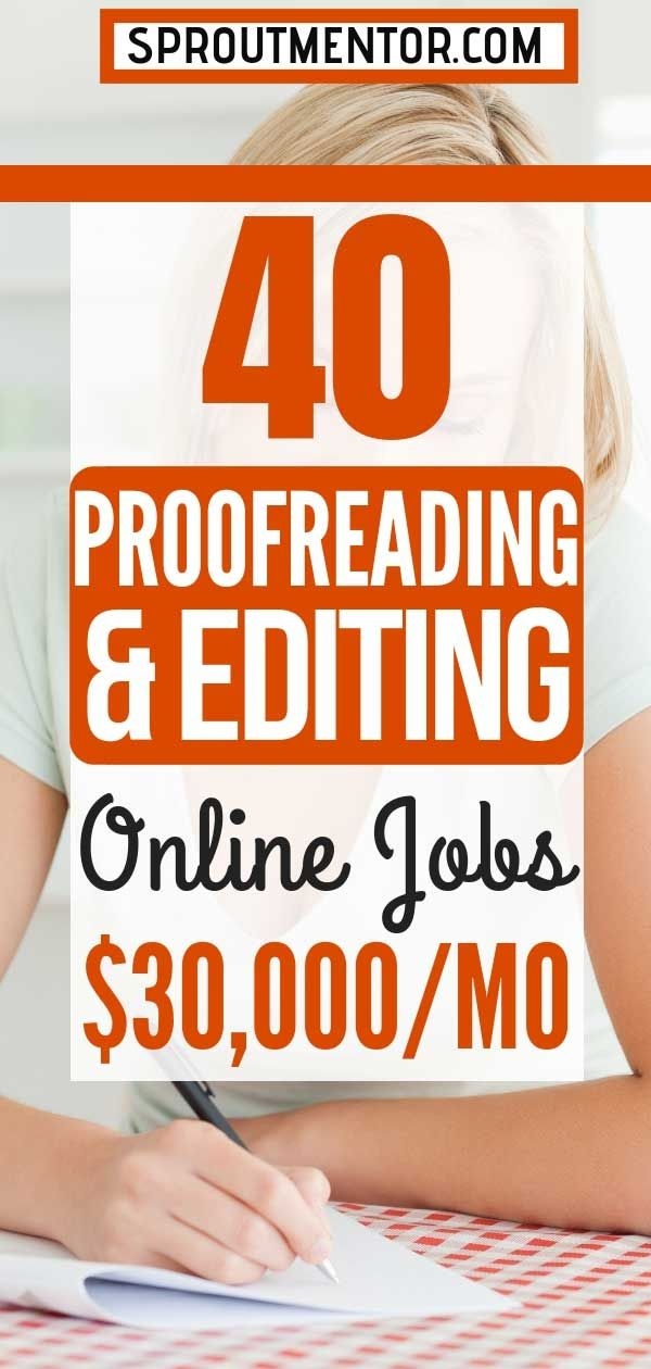 Proofreading Jobs Online No Experience Required Hiring In 2021 Sproutmentor Proofreading Jobs Online Jobs Editing Jobs