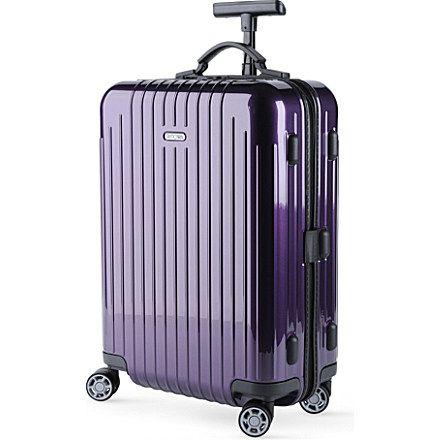 Salsa Air four wheel cabin suitcase by Rimowa, £355 from selfridges.com