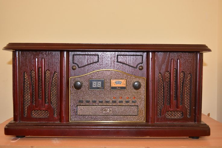 Radio, Retro, Vintage, Music, Antique, Wooden, Brown