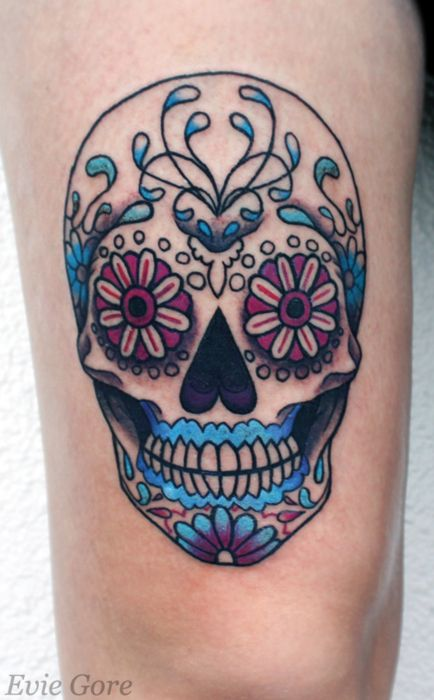 my next tat will be one of these fancy skulls... too cool