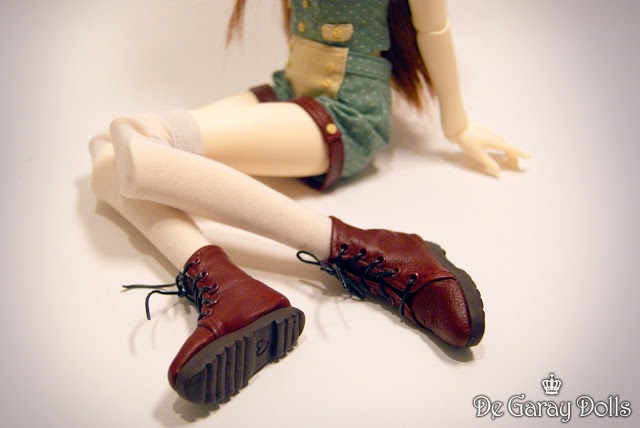 Doll Boot Making Tutorial