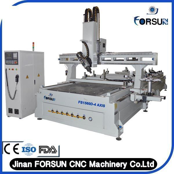 Hot!!!4axis cnc router for woodworking machine,cnc router bit with best price #BestWoodworkingRouter