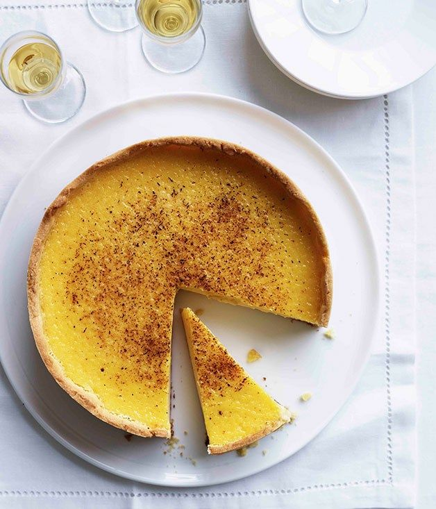 Marco Pierre White's custard tart
