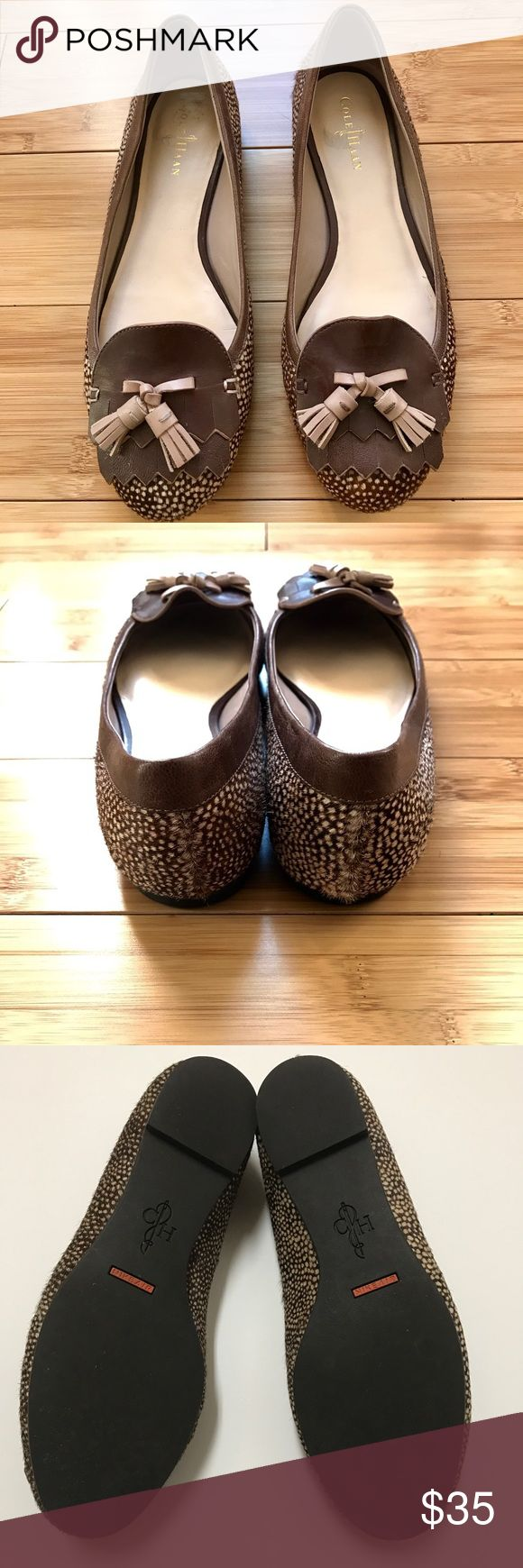 Cole Haan Leopard Nike Air Flats, Size 6 Excellent Condition. Nike Air Flats Cole Haan Shoes Flats & Loafers