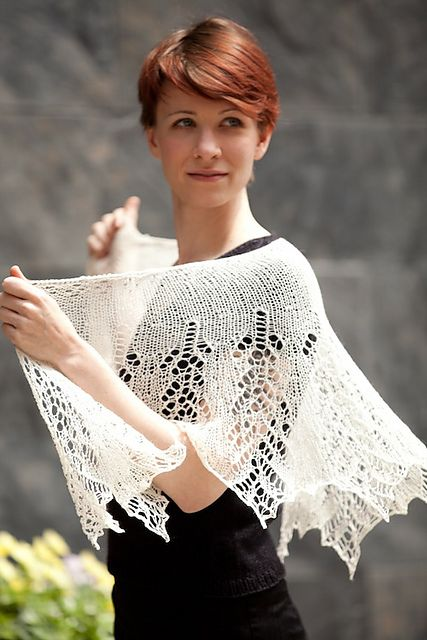 Ravelry: Grace Kelly Luxurious Beaded Shawl pattern by Susanna IC