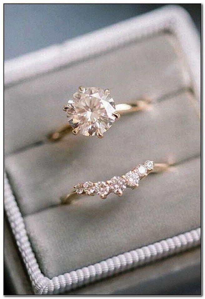 Rings For Women Rose Gold Promise Ring For Her Anniversary Gift Bridal Wedding Jewelry Halo Diamond Metal Beads Milgrain Engagement Ring