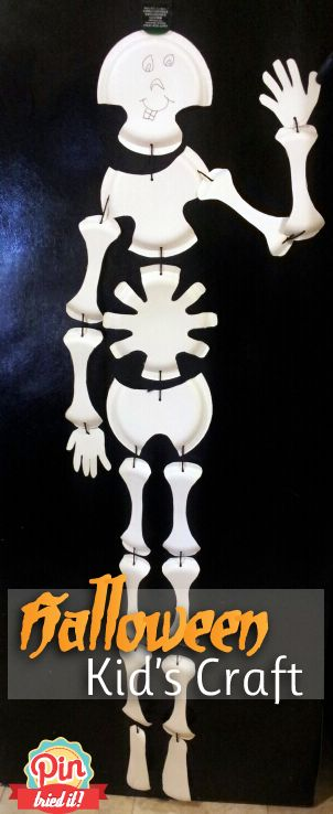 Skeleton Bones Kids Craft My oldest sister did this in Jr. High. Mom still has it and still uses it every year.