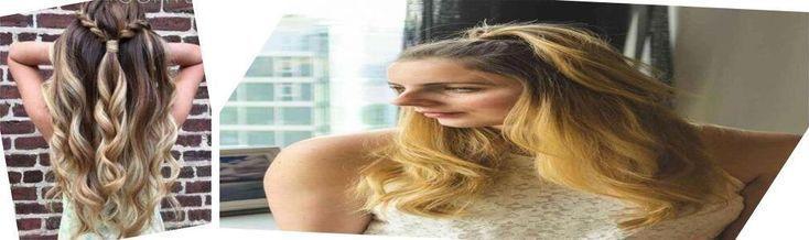 Lange glatte Haare | Einfache Frisuren für glattes mittleres Haar Schnelles Haar,  #einfache ...