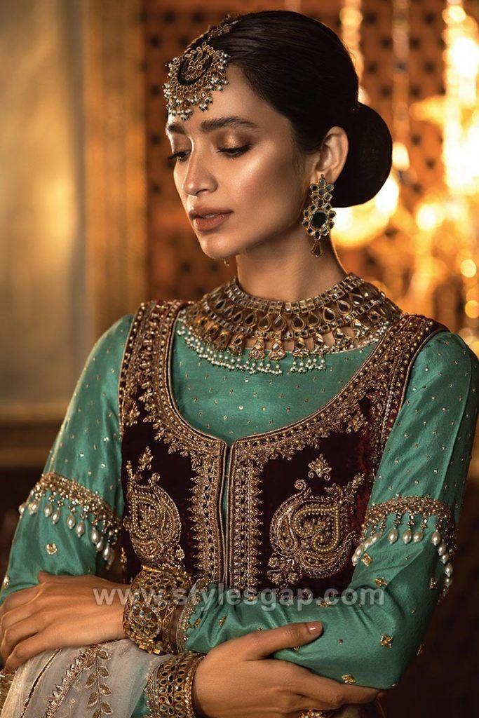 Maria B Latest Pakistani Formal Wedding Dresses Collection ...