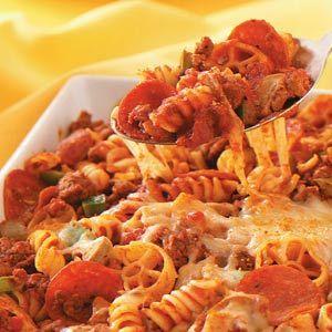 Pepperoni Pasta Recipe
