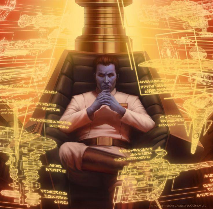 Star Wars: TCG - Grand Admiral Thrawn by AnthonyFoti on @DeviantArt