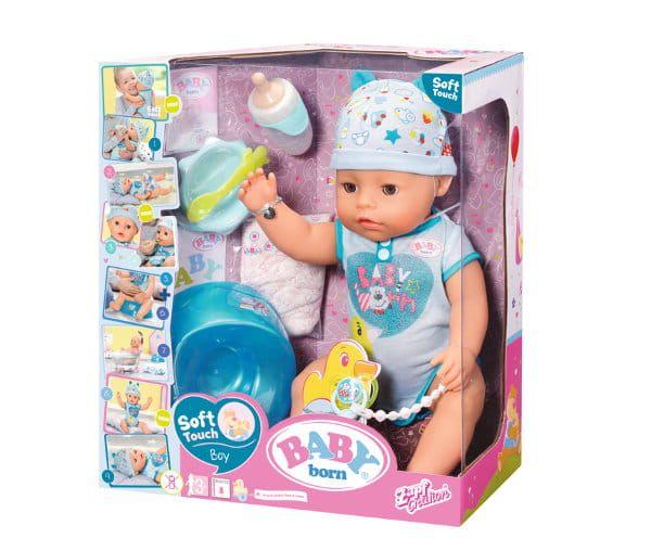 Baby Born Lalka Interaktywna Chlopiec Baby Doll Accessories Baby Dolls Funny Babies