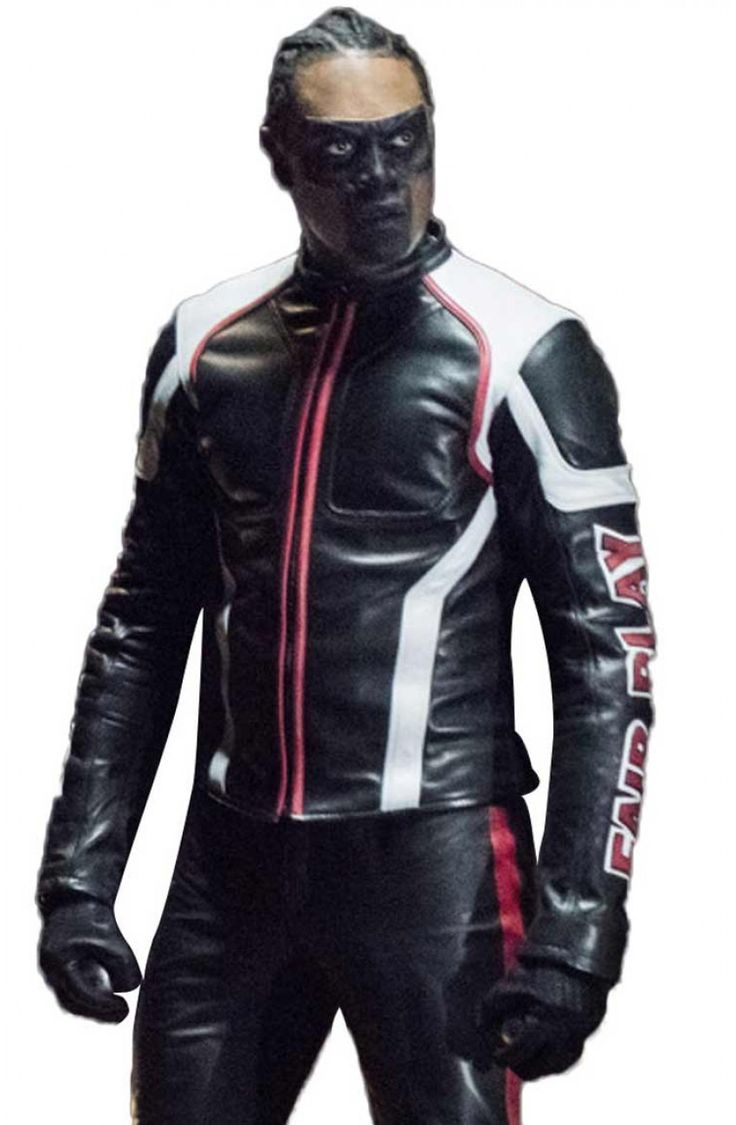 Echo Kellum Jacket Mister Terrific If you're looking for something sleek and edgy when it comes to the outfit grants, then this #mister #terrific #jacket is the high-class trend you should go for.