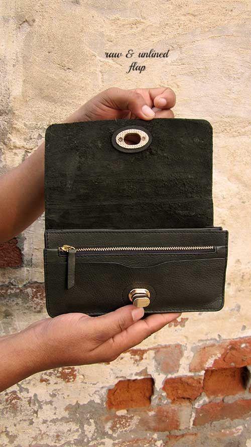 Seaweed Michela, Chiaroscuro, India, Pure Leather, Handbag, Bag, Workshop Made, Leather, Bags, Handmade, Artisanal, Leather Work, Leather Workshop, Fashion, Women's Fashion, Women's Accessories, Accessories, Handcrafted, Made In India, Chiaroscuro Bags - 3