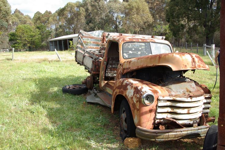 1947 Chevrolet with stock crate paddock find in Balingup W.A. Mine now!
