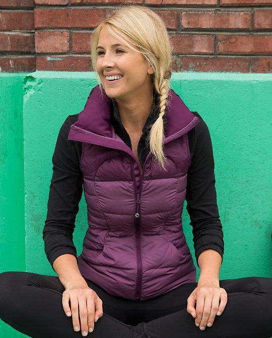 Stitch fix: Just bought a purple puffy vest ... Would love tops to layer under it!!!