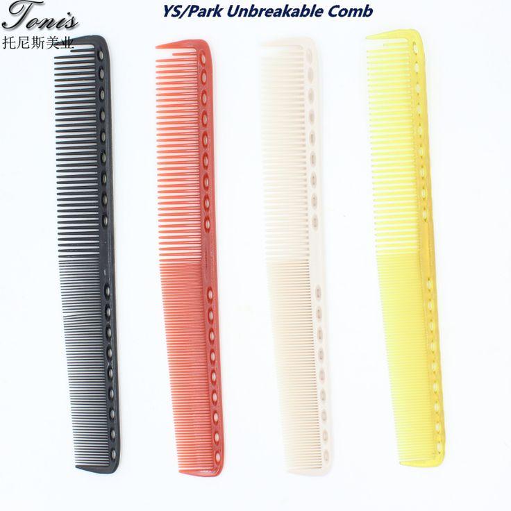 Y.s / Park dipecahkan potongan rambut sisir untuk Salon tukang cukur sisir dalam kualitas yang baik, 4 warna untuk memilih, 10 pcs/lot memotong rambut sisir YS-101