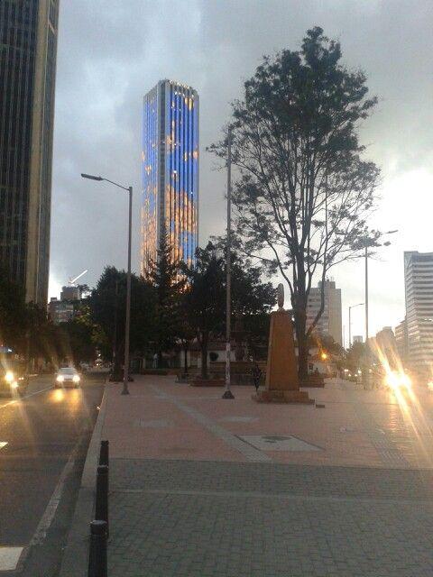 Torre Colpatria. Bogotá