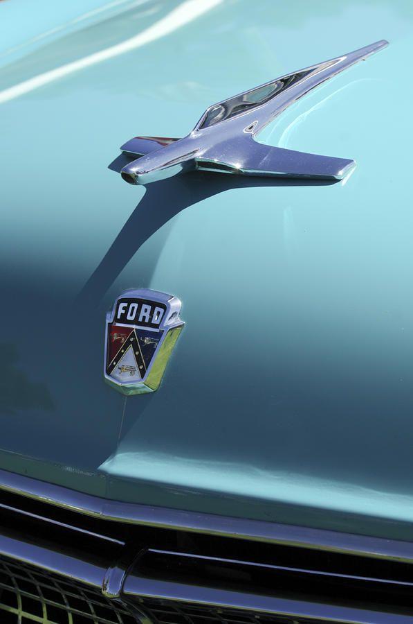 1955 Ford · Hood OrnamentsCar PartsOld ... & 1500 best Hood Ornaments / Car Emblems images on Pinterest | Hood ... markmcfarlin.com