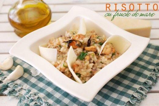 Risotto cu fructe de mare - Retete culinare by Teo's Kitchen