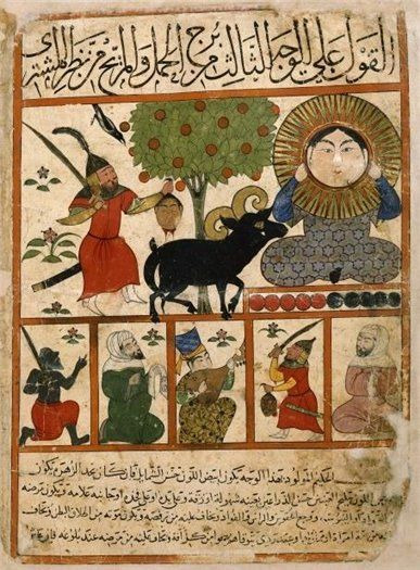 aries - Persian astrology, 14th century transcript of 'Kitâb al-Mawalid' ('The Book of Nativities' , 9th century) by Abû Ma'shar Ibn Balkhi