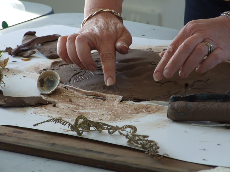 Clay workshop at The Creative Retreat