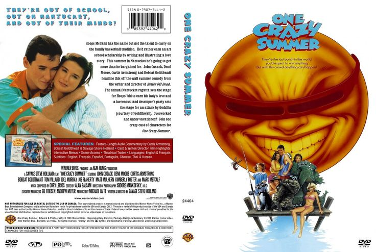 One Crazy Summer is a 1986 romantic comedy film written and directed by Savage Steve Holland, and starring John Cusack, Demi Moore, Bobcat Goldthwait, Curtis Armstrong, and Joel Murray. The original film score was composed by Cory Lerios.