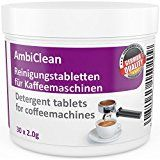Amazon Angebote Padmaschinen Reinigungstabletten für Kaffeevollautomat und Kaffee-Maschine   30 Tabletten je 2g auch für…%#Quickberater%