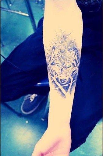 Wolf Tattoos: inspirierende Ideen für Frauen und Männer