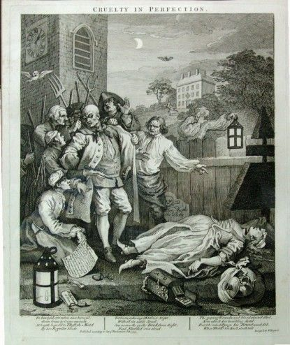 Cruelty in perfection (William Hogarth)