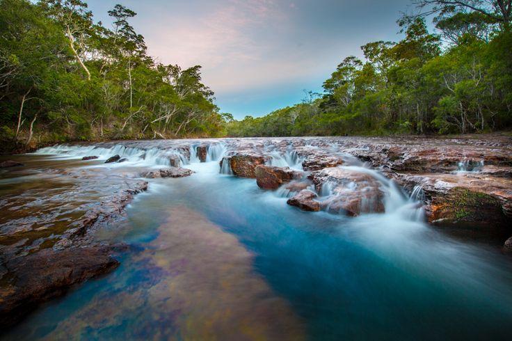 'The Saucepan' Waterhole Elliot Falls Cape York