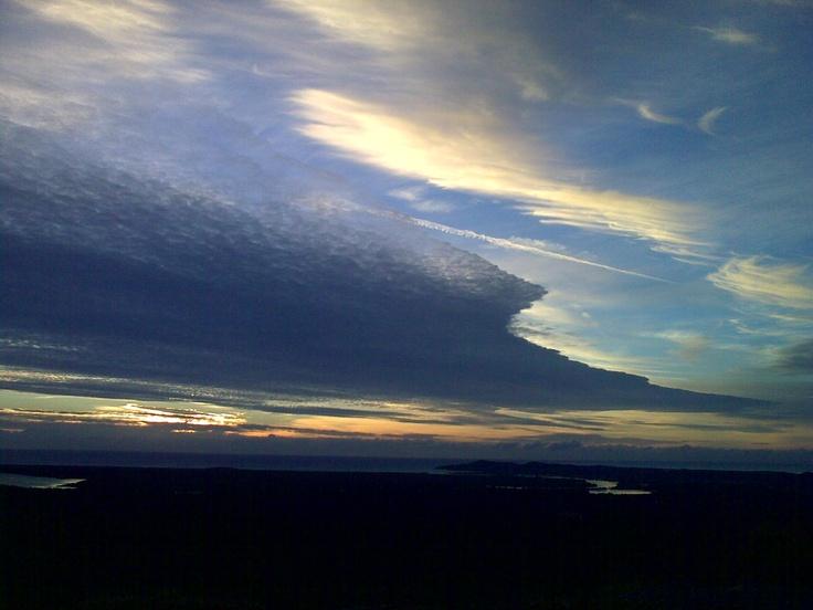 Sunrise from Mt Tinbeerwah