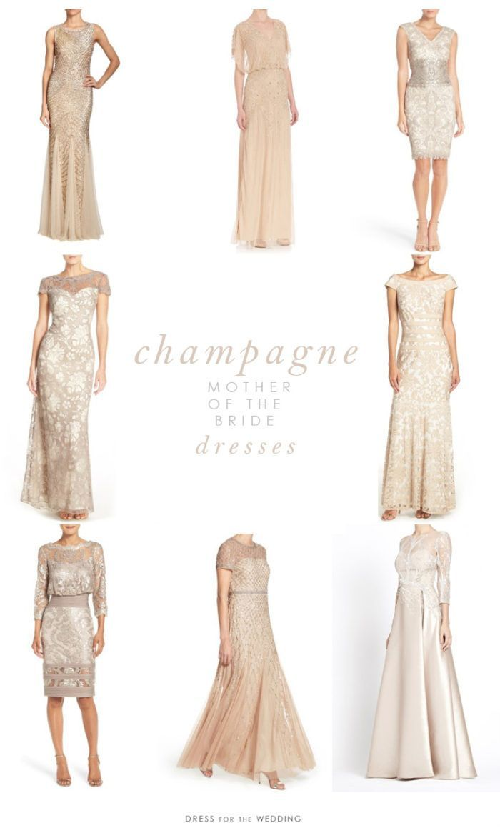 Champagne Mother Of The Bride Dresses Mother Of Groom Dresses