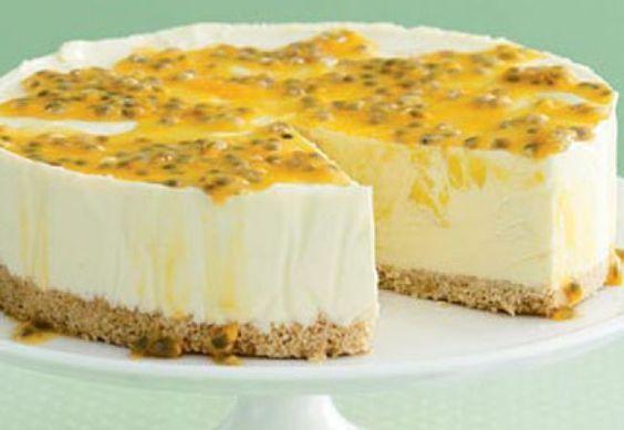 Cheesecake cu mango si lamaie