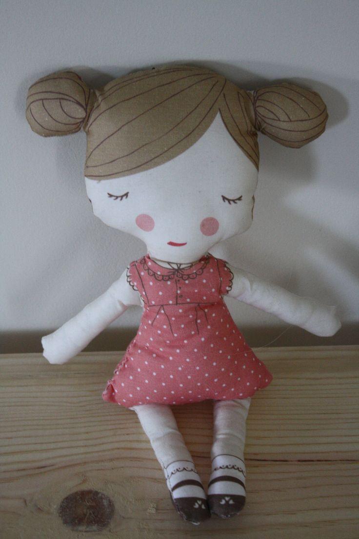 Plush doll www.fawnandclover.com