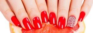 gél lak - gyönyörű vörös