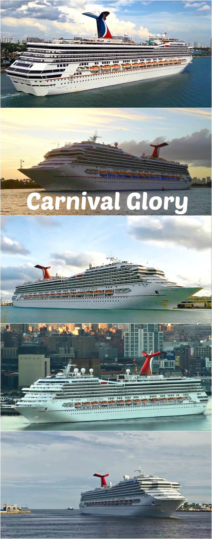 Carnival Glory, the queen of the Caribbean