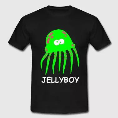 Jellyboy Männer Jungs Qualle Party Fun Shirt Boy - Männer T-Shirt