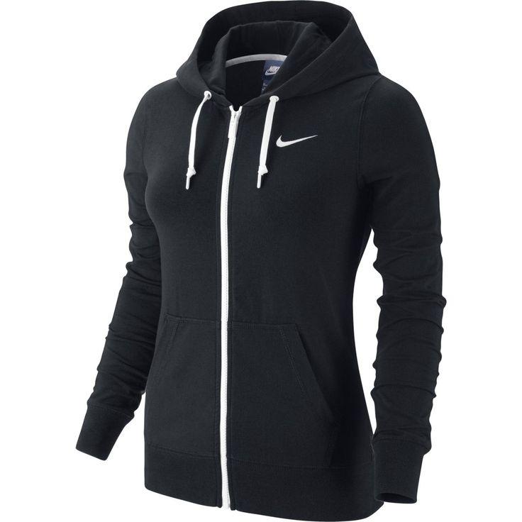 Nike Jersey FZ Hoody, hættejakke, dame - Hættetrøjer - xxl.dk