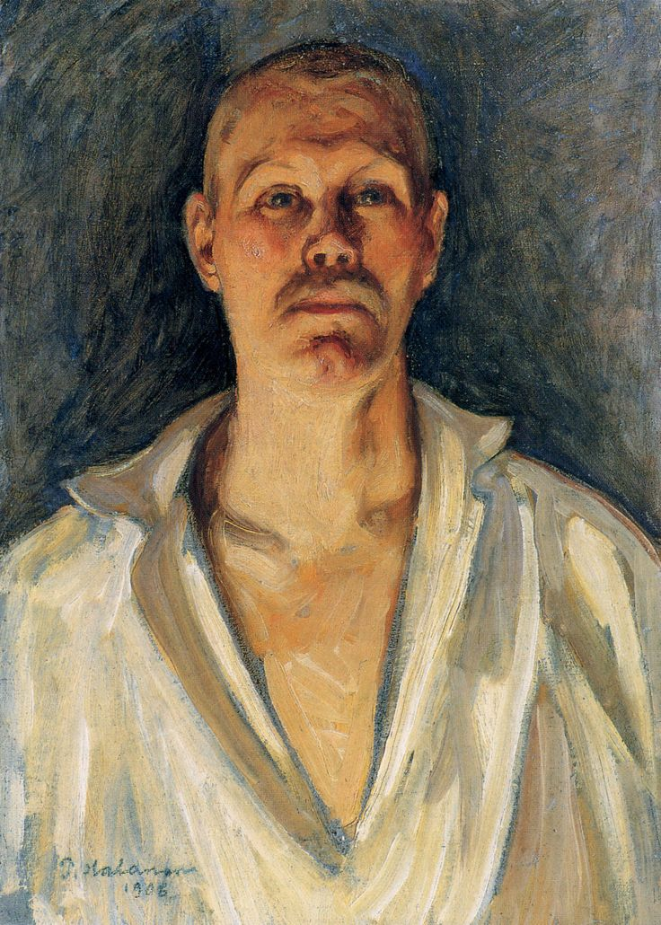 Pekka Halonen, Self Portrait