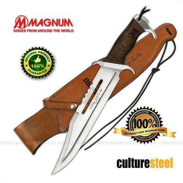 Cuchillo de supervivencia Master Cutlery Rambo III Signature Edition