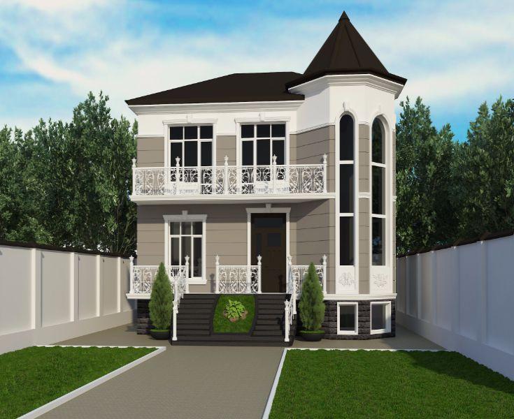 Частный жилой дом в г.Пятигорске