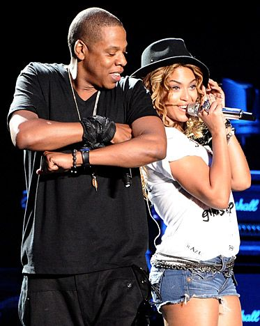Jay-Z and Beyonce at #Coachella in 2010!