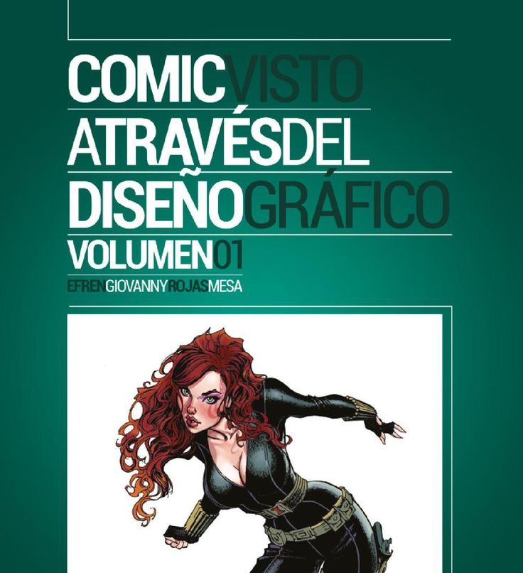 #ClippedOnIssuu from Comic Visto A través del Diseño Gráfico.