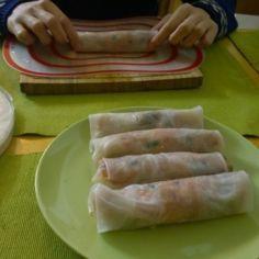 Vietnamilaiset Kevätkääryleet(Jauheliha/katkarapu) - Kotikokki.net - reseptit