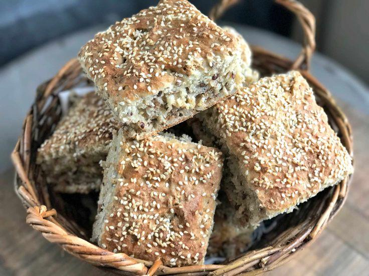 Supergode og kjempeenkle rundstykker til matpakken - Franciskas Vakre Verden