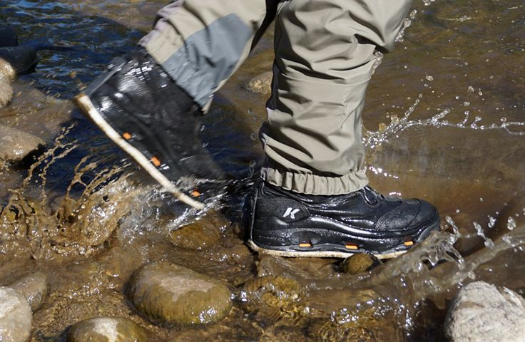Fishing Boot: 'Swappable' Sole, Boa Closure   Gear Junkie