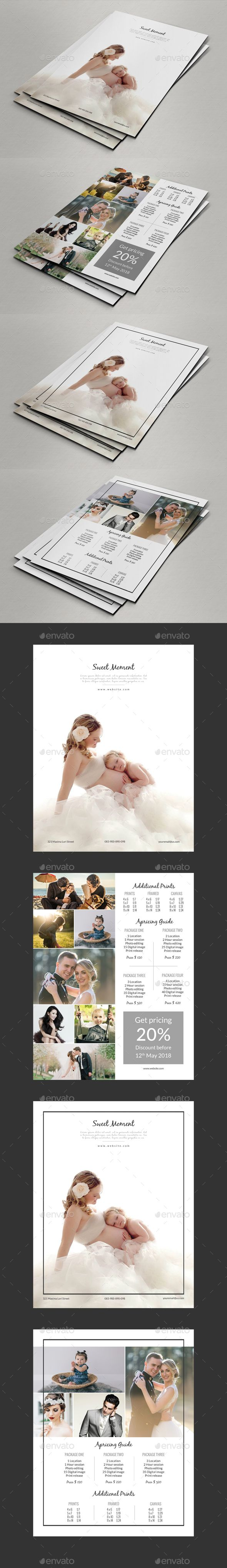 Photography Price List Template - Corporate Flyers