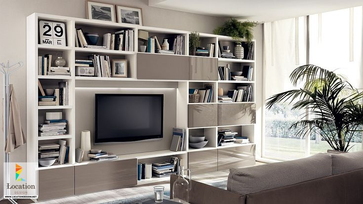 versatile wall unit systems for a dynamic living room design